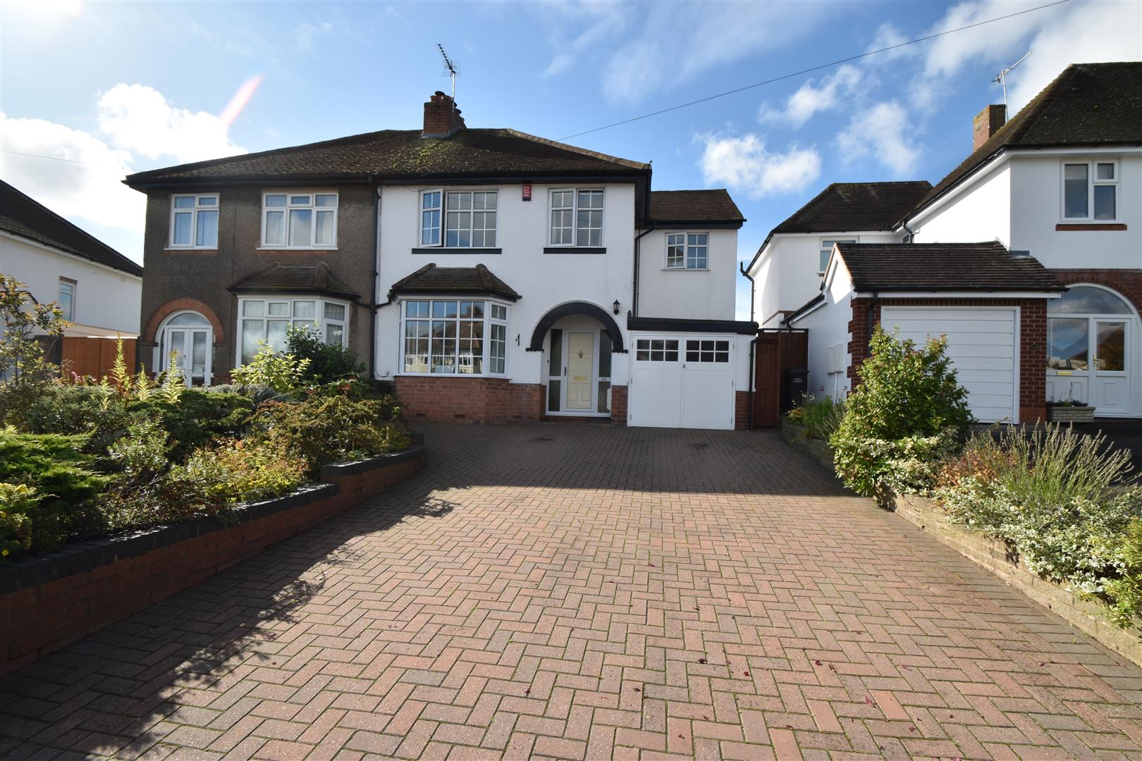 4 Bedrooms Semi Detached House for sale in Oakland Avenue, Droitwich